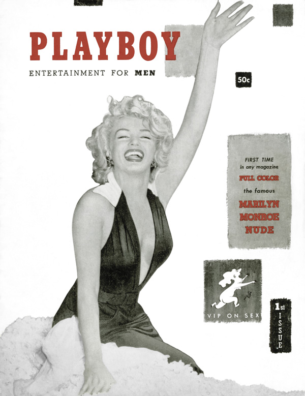 December. 1953 - Cover : Marilyn Monroe / PlayMate : Marilyn Monroe