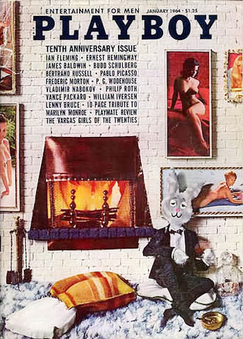 January. 1964 - Cover : Connie Mason,Phyllis Sherwood,Terre Tucker / PlayMate : Sharon Rogers