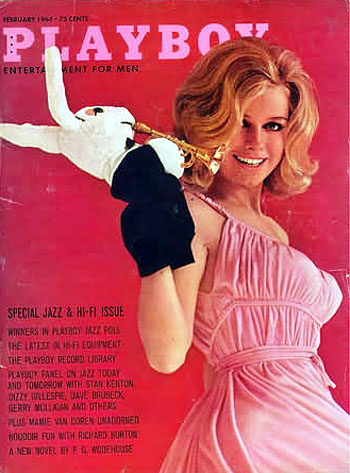 February. 1964 - Cover : Cynthia Maddox / PlayMate : Nancy Jo Hooper