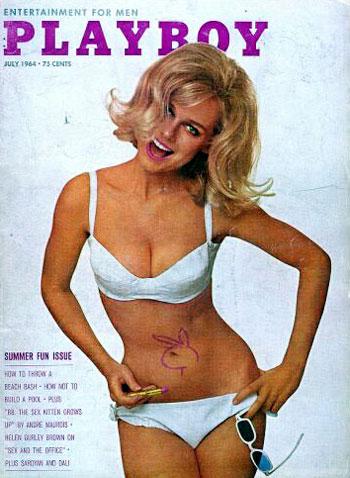 July. 1964 - Cover : Cynthia Maddox / PlayMate : Melba Ogle