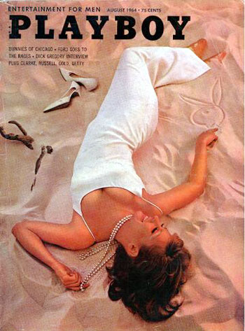August. 1964 - Cover : Barbara Reeves / PlayMate : China Lee