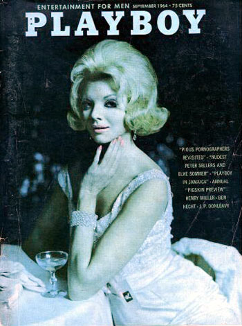 September. 1964 - Cover : Heather Hewitt / PlayMate : Astrid Schulz