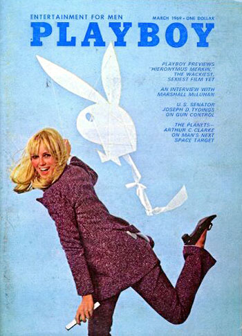 March. 1969 - Cover : Penny James / PlayMate : Kathy MacDonald