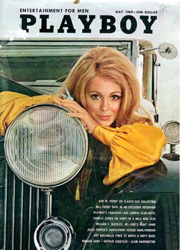 May. 1969 - Cover : Paulette Lindberg / PlayMate : Sally Sheffield