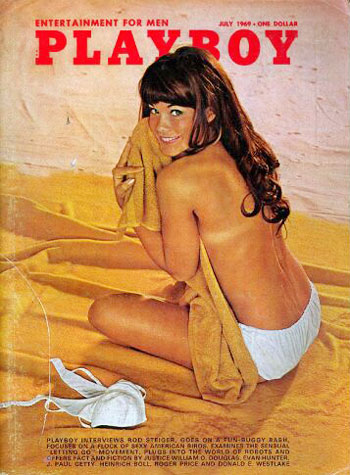 July. 1969 - Cover : Barbara Klein (Barbi Benton) / PlayMate : Nancy McNeil