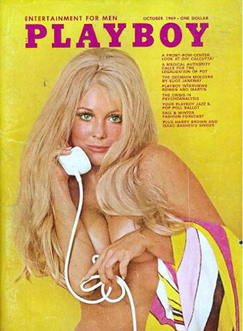 October. 1969 - Cover : Paulette Lindberg / PlayMate : Jean Bell