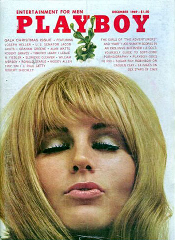 December. 1969 - Cover : Jorja Beck / PlayMate : Gloria Root