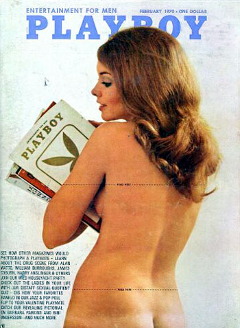 February. 1970 - Cover : Norma Bauer / PlayMate : Linda Forsythe