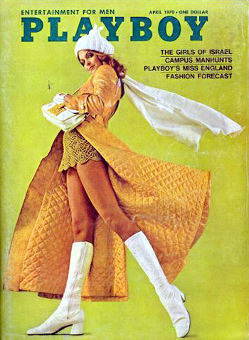 April. 1970 - Cover : Pamela Nystul / PlayMate : Barbara Hillary