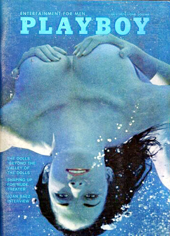 July. 1970 - Cover : Janet Wolf / PlayMate : Carol Willis
