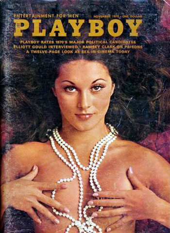 November. 1970 - Cover : Crystal Smith / PlayMate : Avis Miller