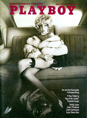 May. 1973 - PLAYBOY Cover : Bernie Becker / PlayMate : Anulka Dziubinska