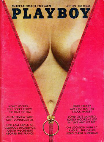 July. 1973 - PLAYBOY Cover : Karen Christy / PlayMate : Martha Smith