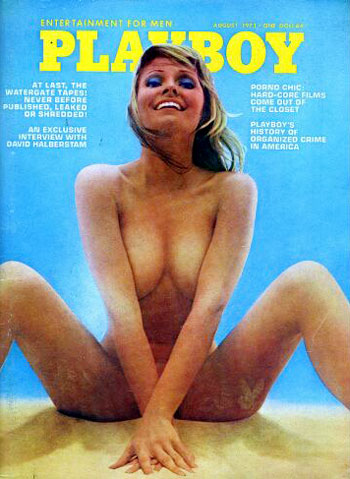 August. 1973 - PLAYBOY Cover : Cyndi Wood / PlayMate : Phyllis Coleman