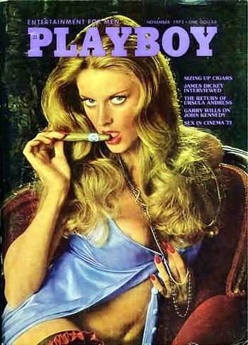 November. 1973 - PLAYBOY Cover : Anne Randall / PlayMate : Monica Tidwell