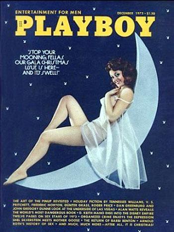 December. 1973 - PLAYBOY Cover : Bonita Lou Rossi / PlayMate : Christine Maddox