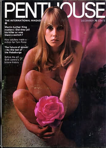 December. 1969 - PENTHOUSE Cover : Janet Pearce