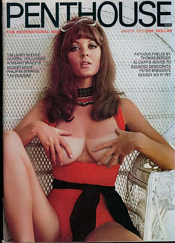March. 1973 - PENTHOUSE Cover : Avril Lund
