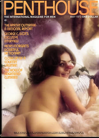 May. 1973 - PENTHOUSE Cover : Sandi Greco