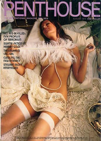 August. 1973 - PENTHOUSE Cover : Lane Jackson Coyle