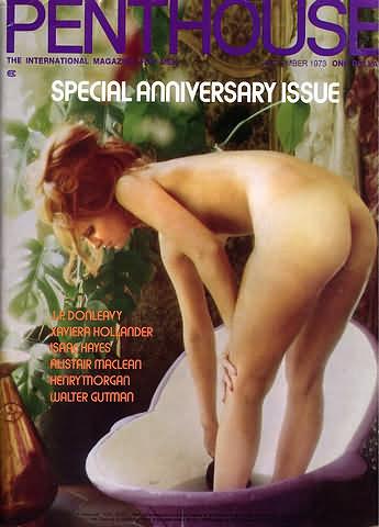 September. 1973 - PENTHOUSE Cover : Anneka De Lorenzo