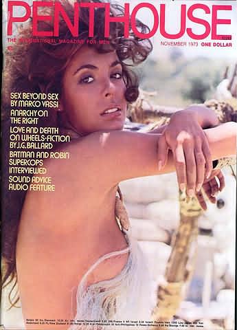 November. 1973 - PENTHOUSE Cover : Debbie Griffin