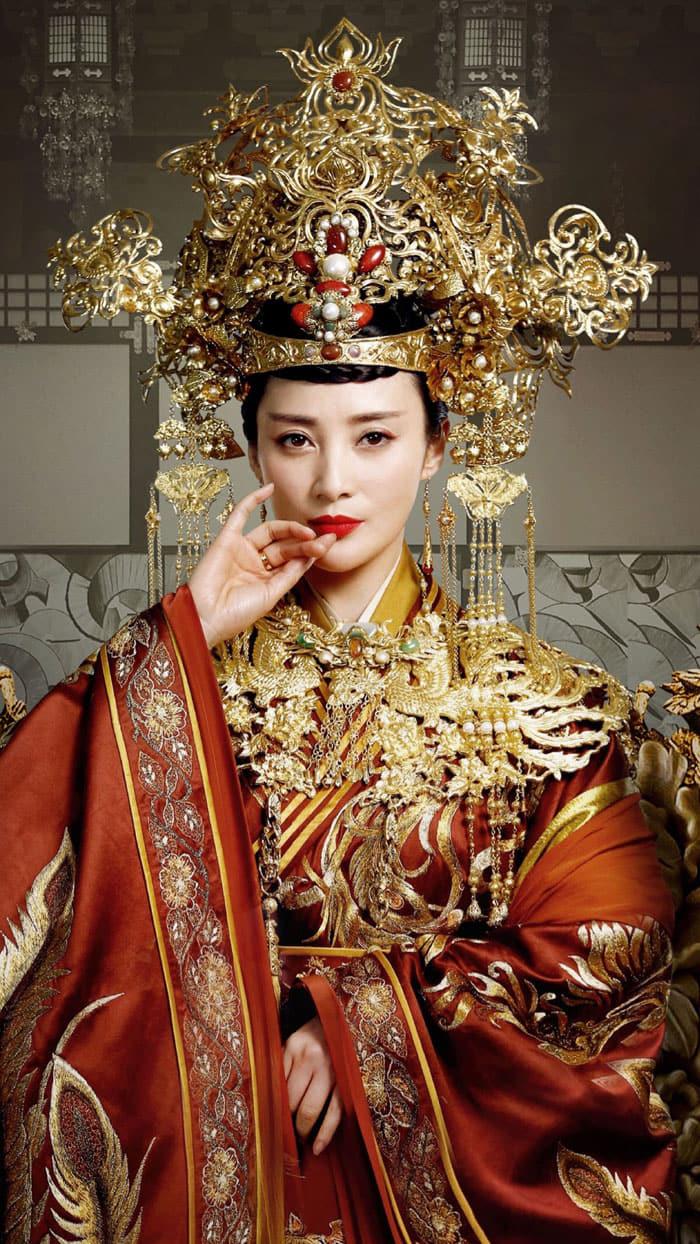 Jiang Qinqin   Shui Ling   蒋勤勤   장친친